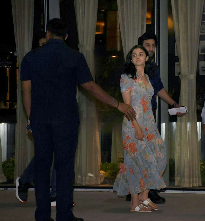 India Tv - The dating rumours between Alia Bhat and Ranbir Kapoor have been doing rounds since Brahmastra went on floors.