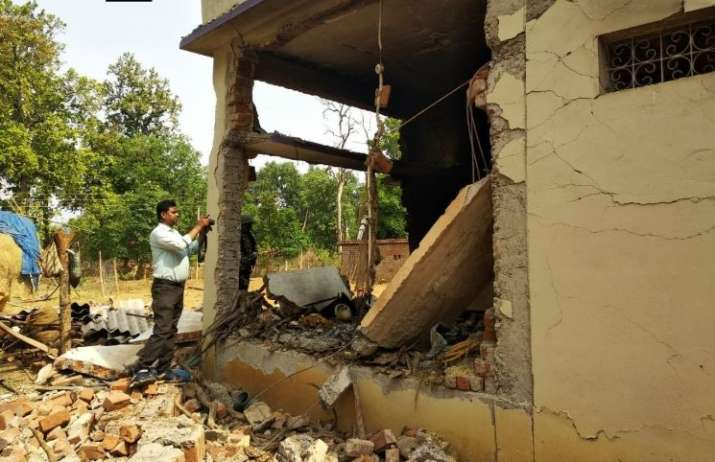 Chhattisgarh: Naxals blow up BJP MP's farmhouse ahead of