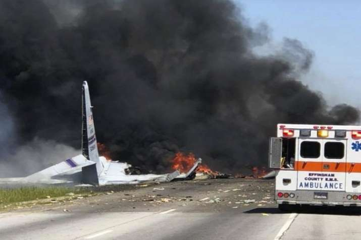 Nine dead as C-130  Hercules aircraft crashes near US