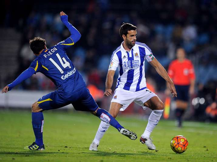 India Tv - Xabi Prieto played his last match for Real Sociedad.