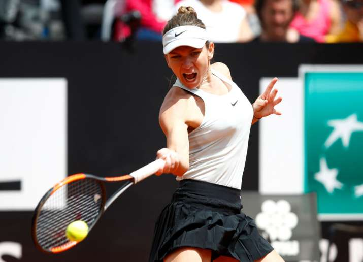India Tv - Simona Halep routed Naomi Osaka 6-1, 6-0