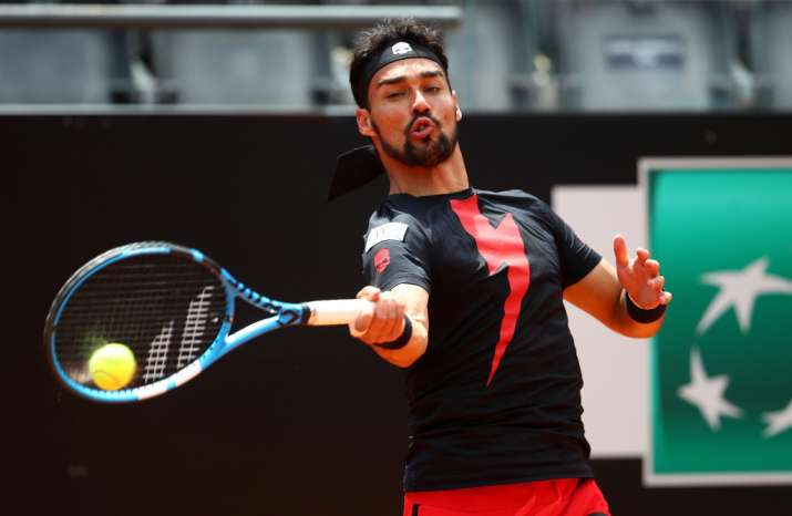 India Tv - Fabio Fognini beat Dominic Thiem.