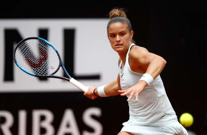 India Tv - Sakkari of Greece rallied past sixth-seeded Karolina Pliskova
