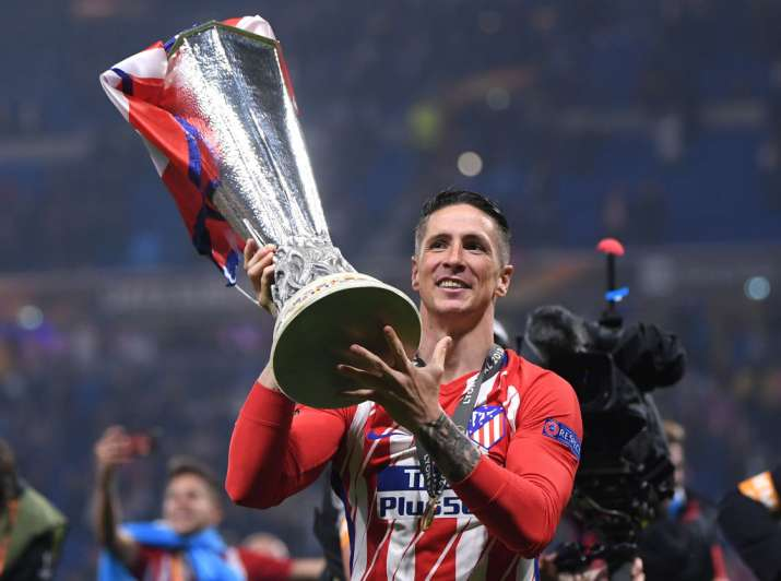 India Tv - Torres won the Europa League with Atletico Madrid