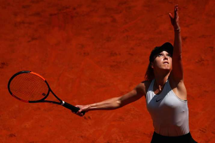 India Tv -  Elina Svitolina returned to the Italian Open final with a win over  Anna Kontaveit