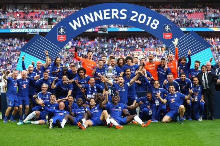 Chelsea beat Manchester United to win the FA Cup