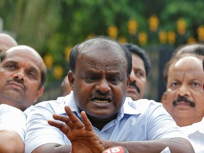 Kumaraswamy is chief manager of Congress' ATM in Karnataka: