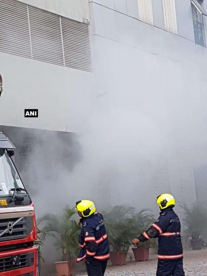 Fire breaks out in Goregaon's Techniplex complex