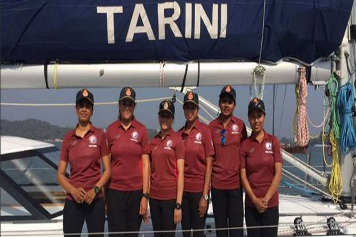 The all-women crew are scheduled to arrive in New Delhi on