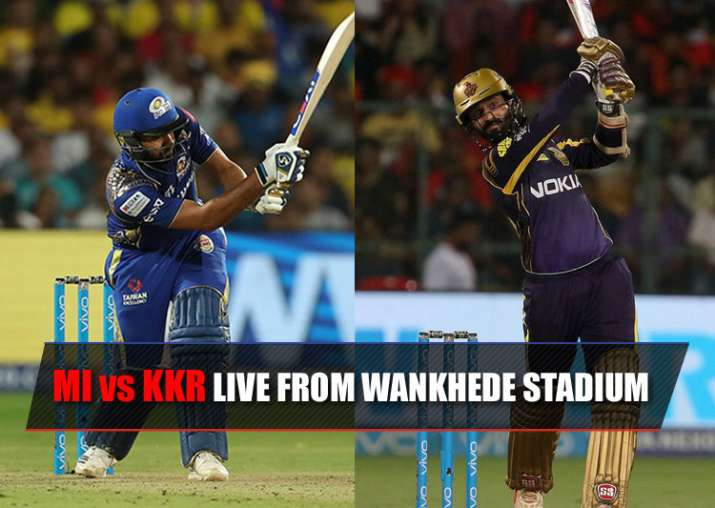 Mi Vs Kkr When And Where To Watch Ipl 2018 Match Online
