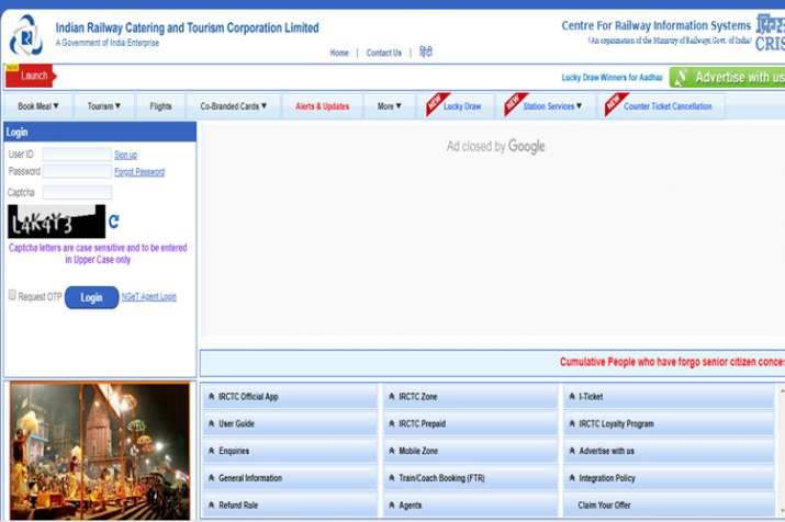 Alert! IRCTC website, other online Railway services to