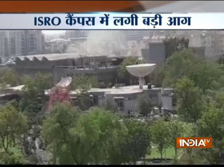 Major fire breaks out at ISRO's Space Applications Centre