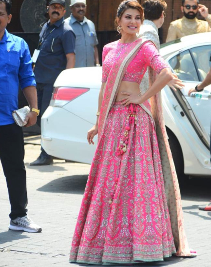 India Tv - Jacqueline Fernandez at Sonam Kapoor's wedding function