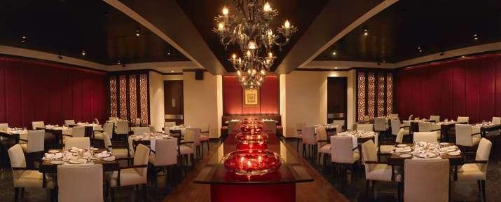 India Tv - Sonam Kapoor's wedding reception venue (PC: The Leela Website)