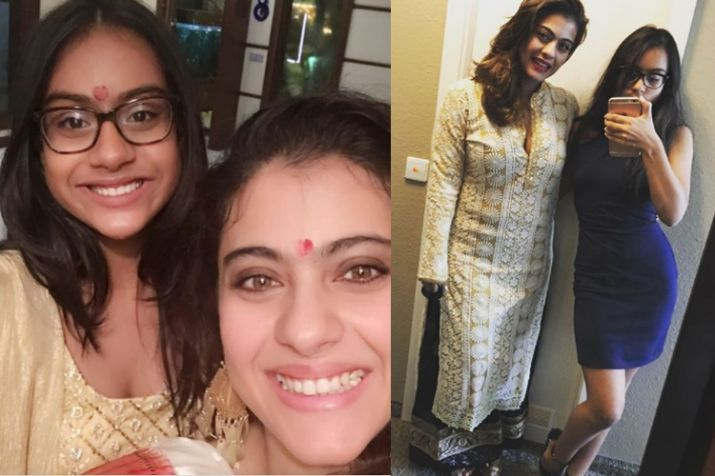 Kajol poses with daughter Nysa on red carpet for the first