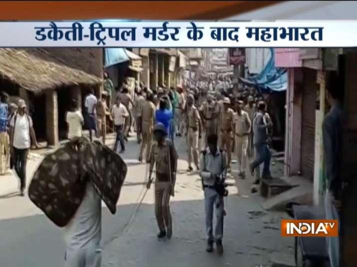 Violent protests in UP's Kasganj after robbers bludgeon