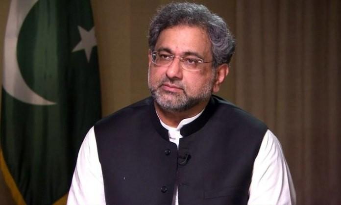 Pakistani Prime Minister Shahid Khaqan Abbasi