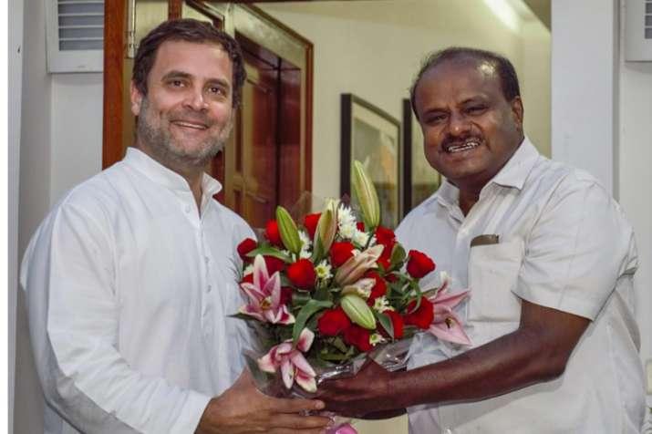 Kumaraswamy to take oath as CM on Wednesday; Congress' G