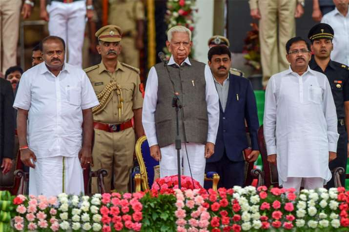 Karnataka Governor Vajubhai Vala, newly-sworn in Karnataka