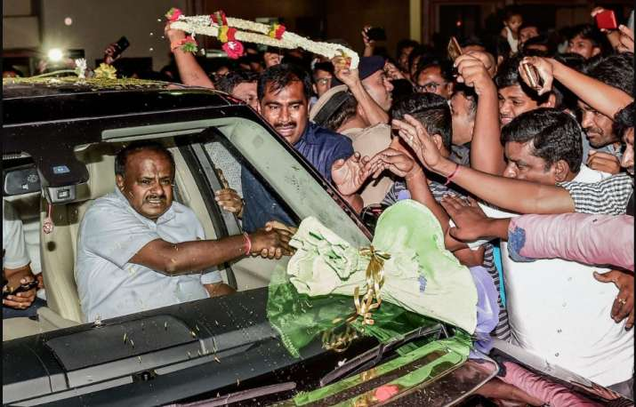 HD Kumaraswamy on Saturday