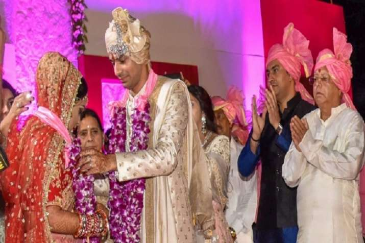 Tej Pratap tied nuptial knot with Aishwarya Rai, daughter