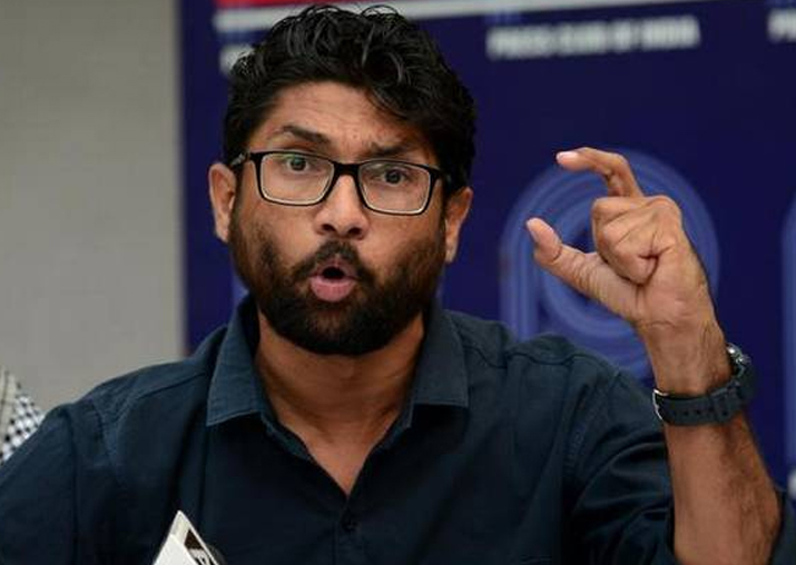 File photo of Independent MLA Jignesh Mevani.