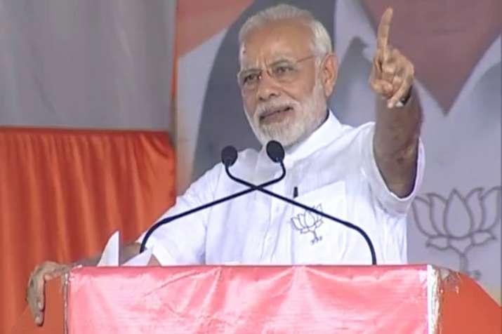 PM Modi in Karnataka's Tumakuru: 'Congress, JDS have