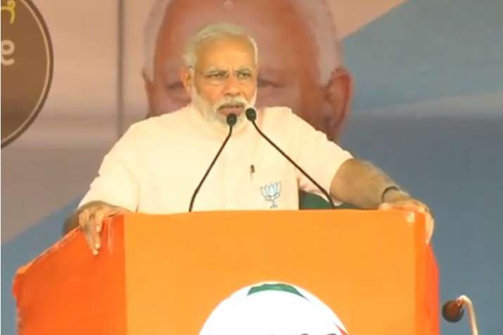 PM Modi in Karnataka's Koppal LIVE: 'Congress being in