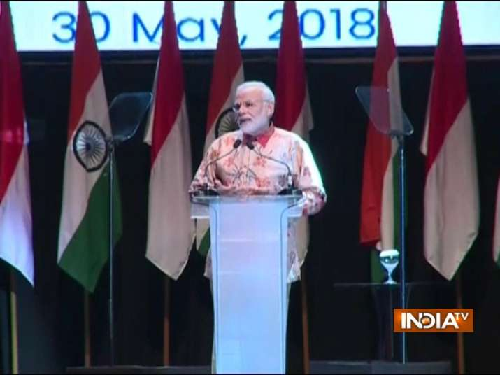 PM Modi in Indonesia