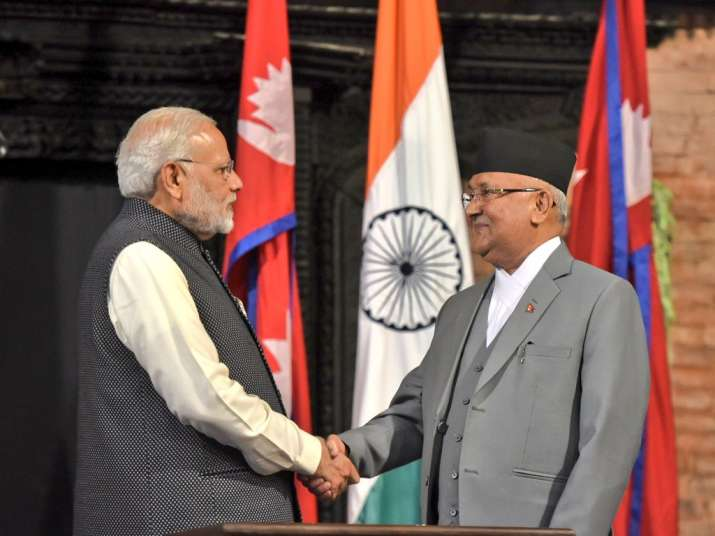 Oli pledges not to allow use of Nepal territory against India after meeting Modi