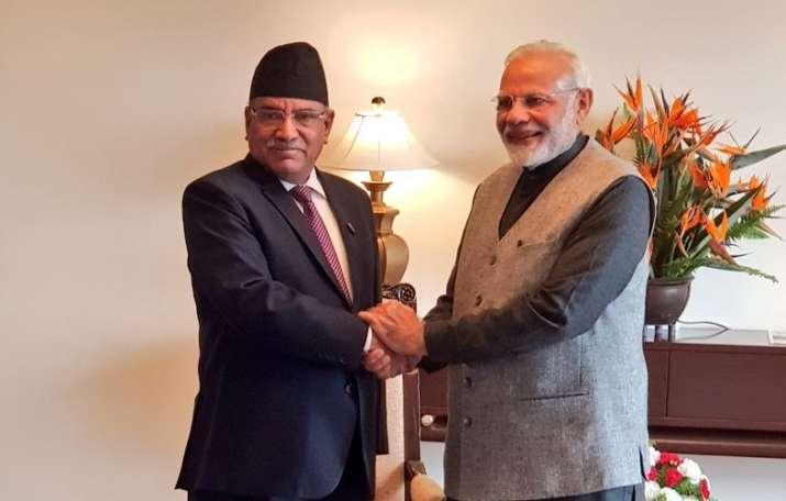 PM met Pushpa Kamal Dahal 'Prachanda', Chairman of
