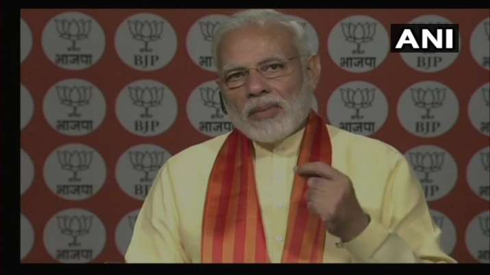LIVE: PM Modi addresses Kisan Morcha karyakartas of BJP through Narendra Modi App
