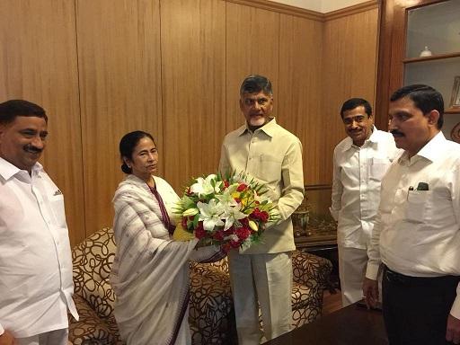Chandrababu Naidu and Mamata Banerjee