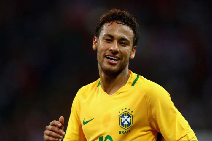 free shipping 4a05d 746db Recovering Neymar confirmed in Brazil's World Cup squad ...