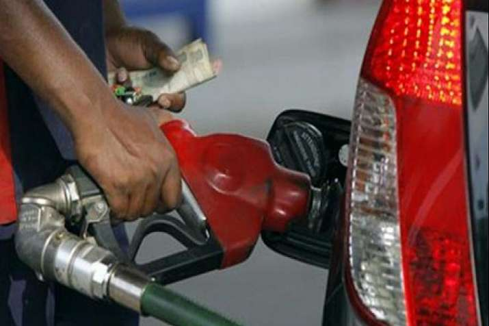 Prices of petrol and diesel touched an all-time high of Rs