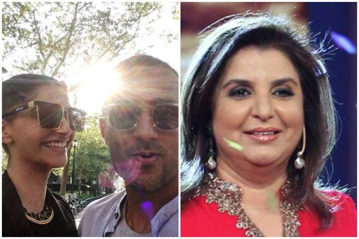 Sonam Kapoor, Anand Ahuja wedding,Farah Khan