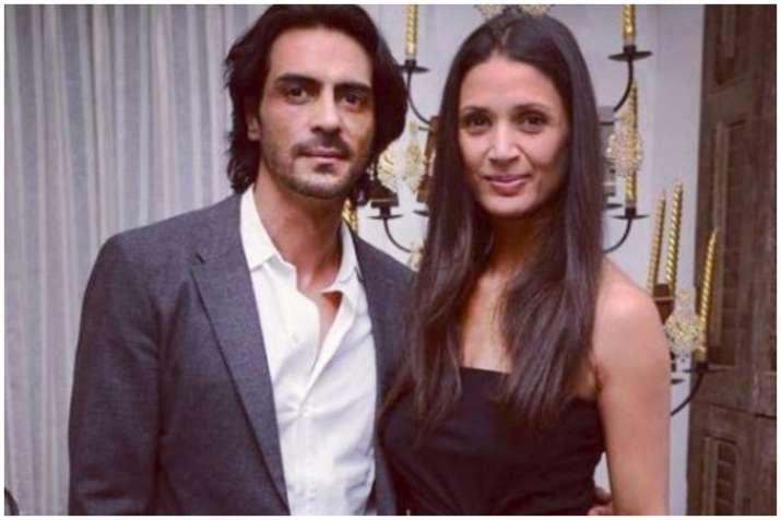 Arjun Rampal and Mehr Jessia