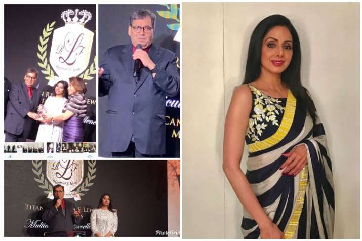 Sridevi honoured posthumously at Cannes Film Festival