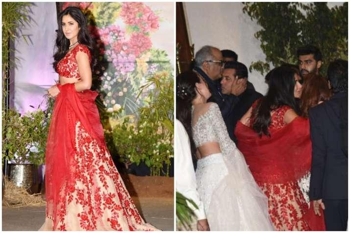 Salman Khan, Katrina Kaif, Sonam Kapoor Anand Ahuja wedding