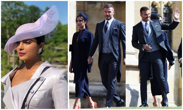 Amal Clooney Royal Wedding.Royal Wedding Latest Updates Stars David Beckham George Clooney