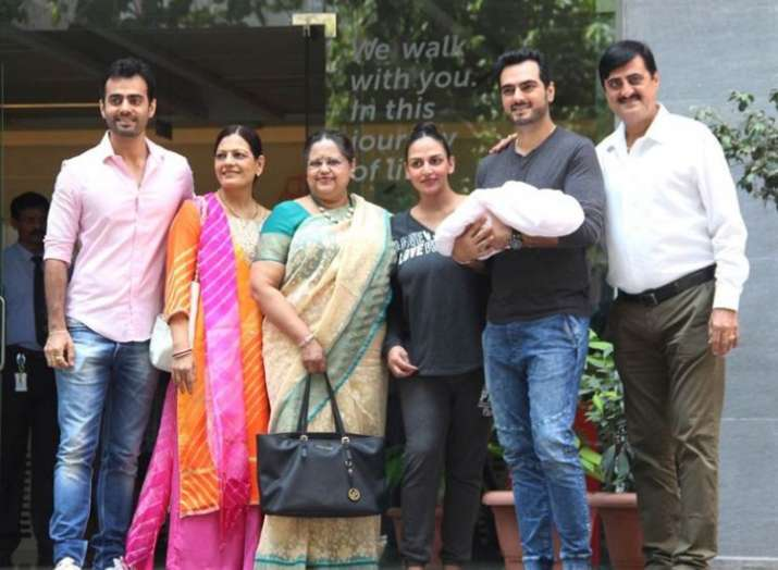 India Tv - Esha Deol shares the first picture of daughter Radhya Takhtani and she is everything adorable