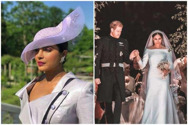 Priyanka Chopra,Meghan Markle and Prince Harry
