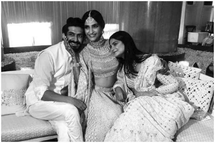 Harshvardhan Kapoor, Sonam Kapoor, Rhea Kapoor
