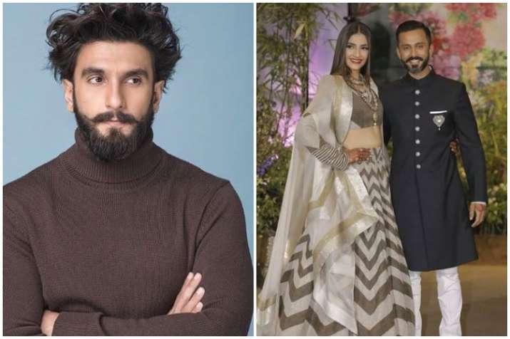 Ranveer Singh, Sonam Kapoor, Anand Ahuja