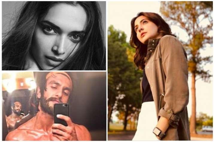 Deepika Padukone, Anushka Sharma, Ranveer Singh