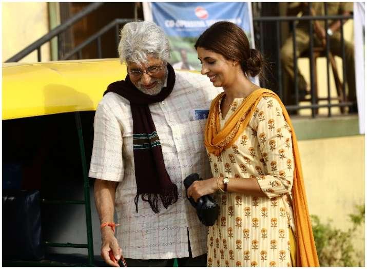India Tv - Amitabh Bachchan with Shweta