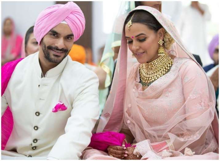 Is newlywed Neha Dhupia pregnant?