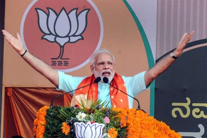PM Narendra Modi addressed three back-to-back rallies in