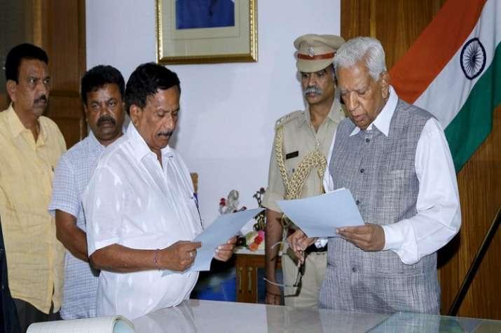 Karnataka Governor Vajubhai Vala appoints BJP MLA KG