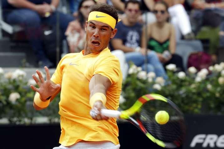 Rafael Nadal Gains A Measure Of Revenge Against Denis Shapovalov In Rome Tennis News India Tv